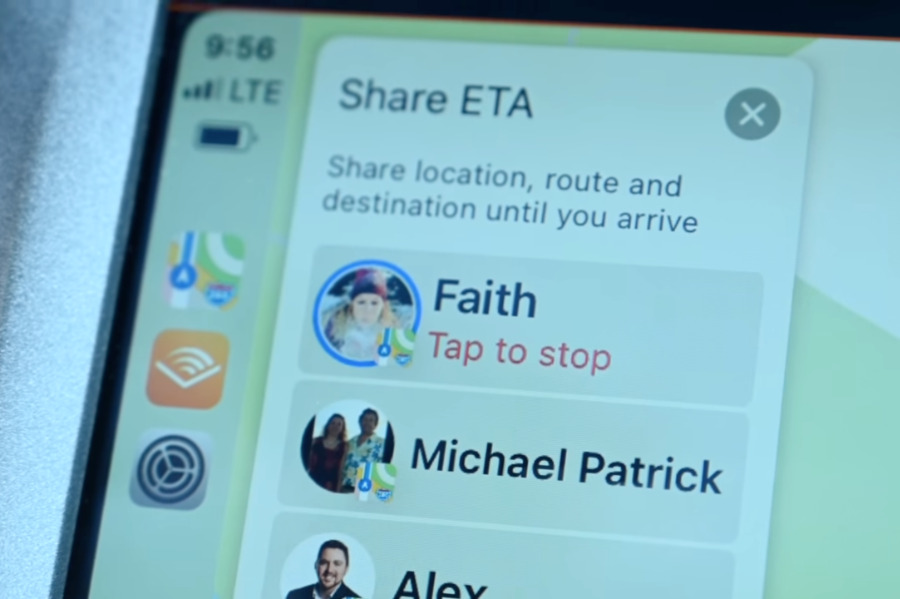 Previously you could share your ETA with someone by tapping through menus, but now you can ask Siri to do it