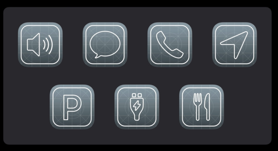 There are now seven categories of apps you can use in CarPlay, including the new Parking and Quick Food Ordering ones