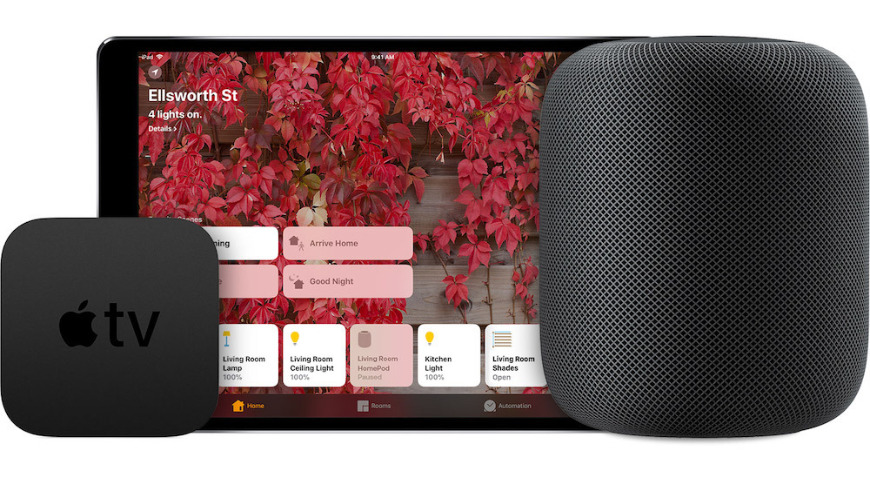 HomePod and Apple TV act as a HomeKit hub