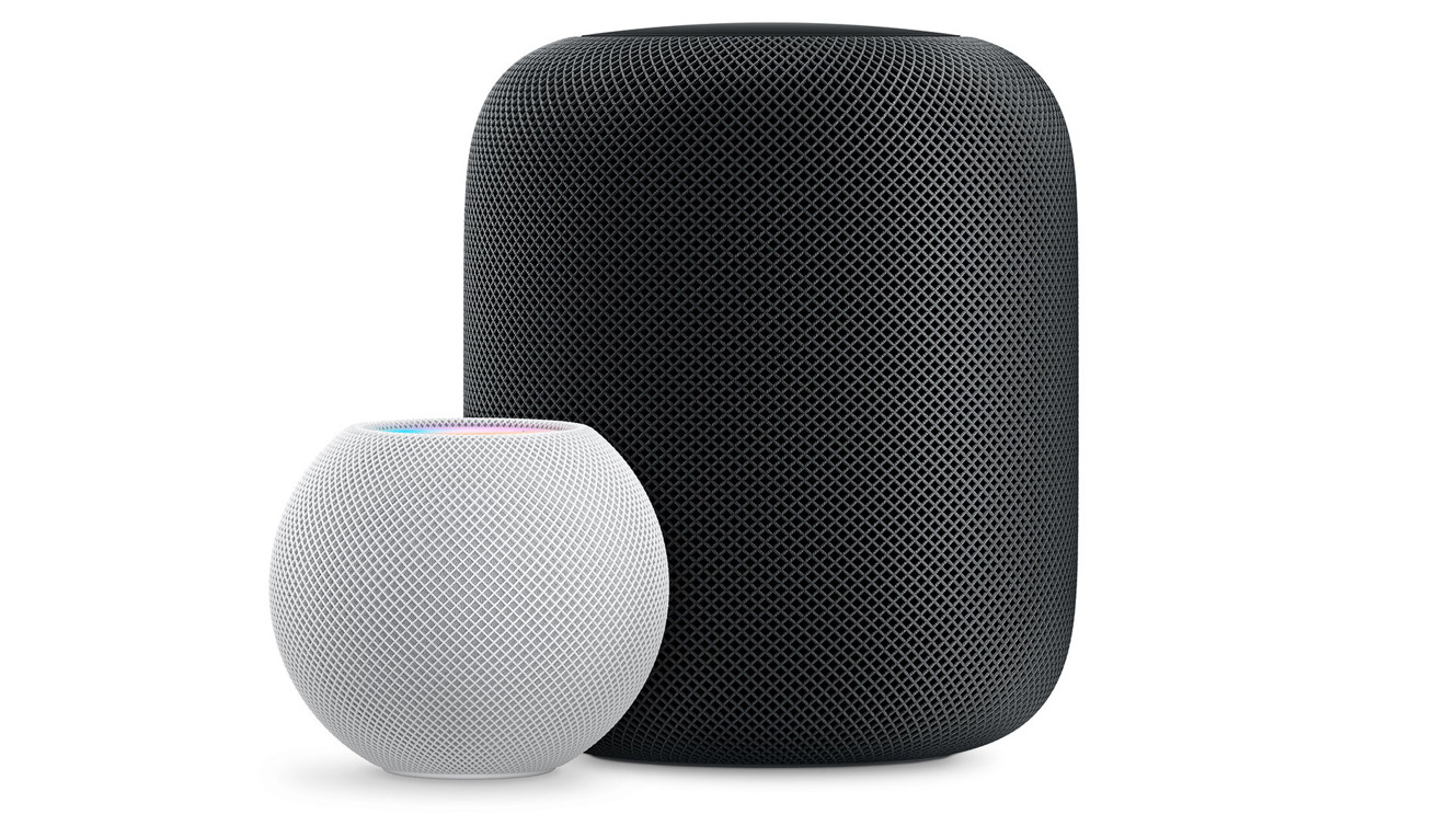Apple's two smart speakers