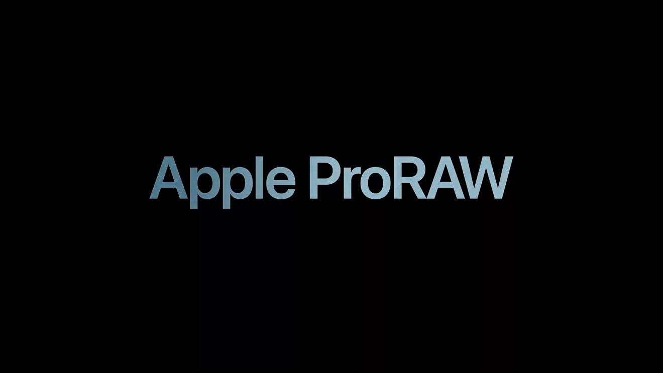 Apple ProRAW