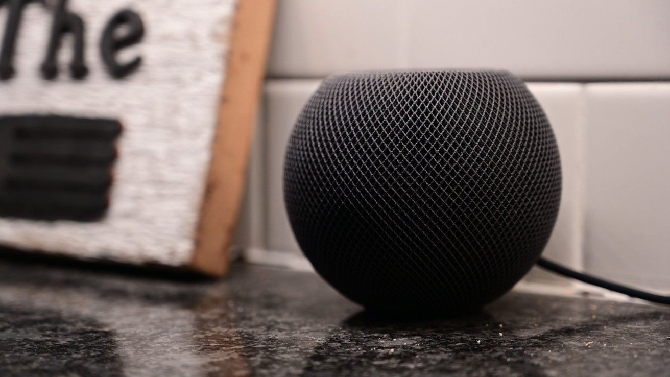 The HomePod mini is small, but packs a big audio punch.