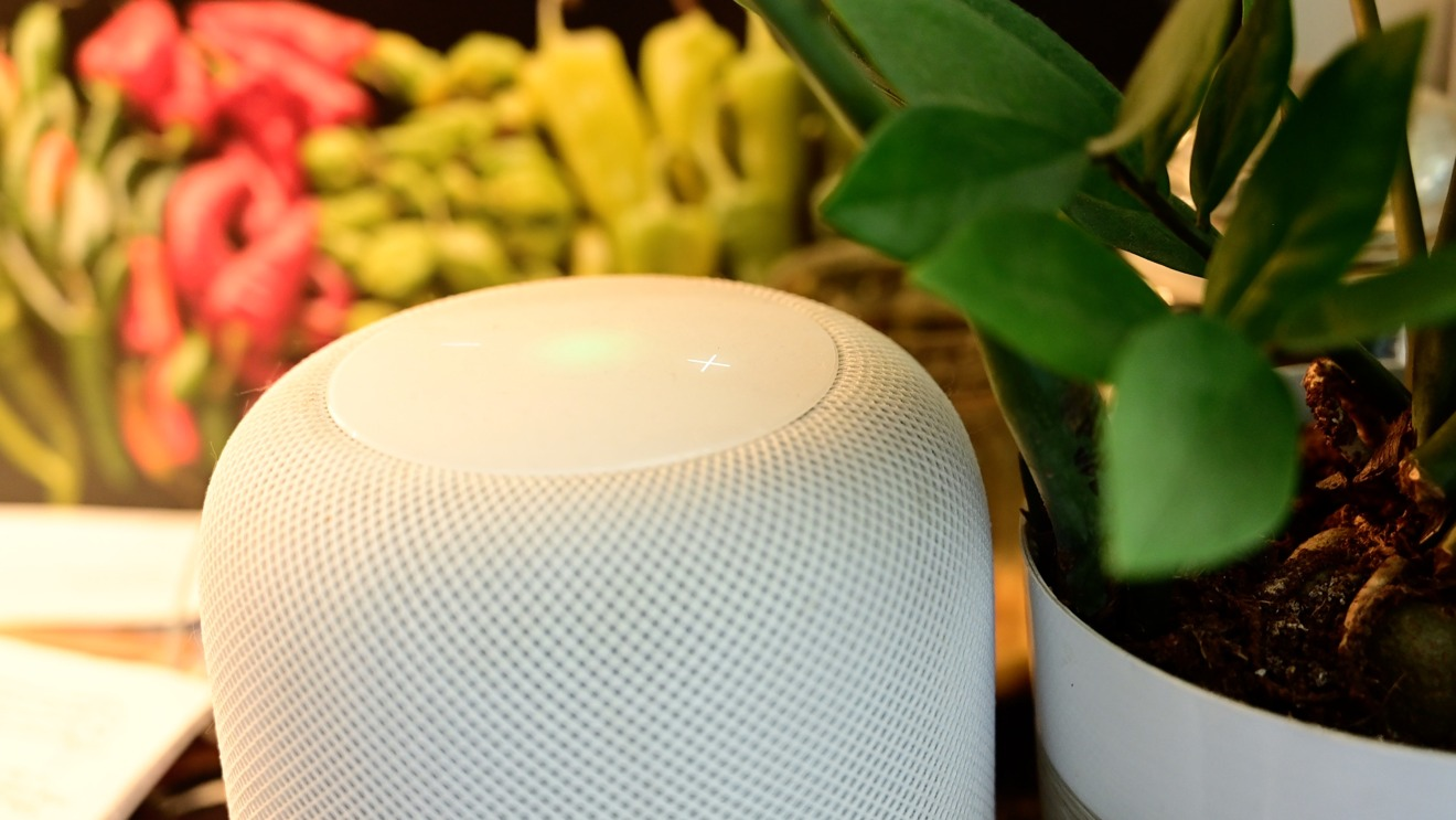 HomePod parlant
