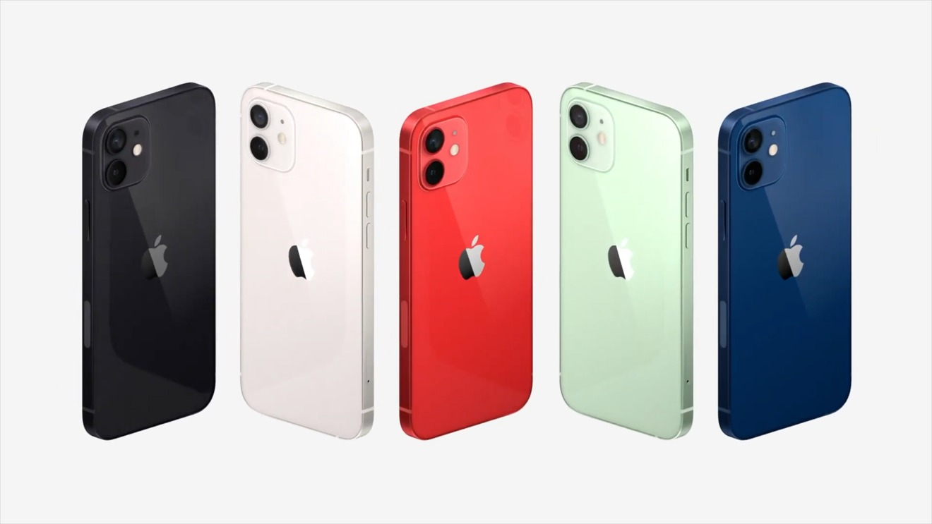 iPhone 12 couleurs