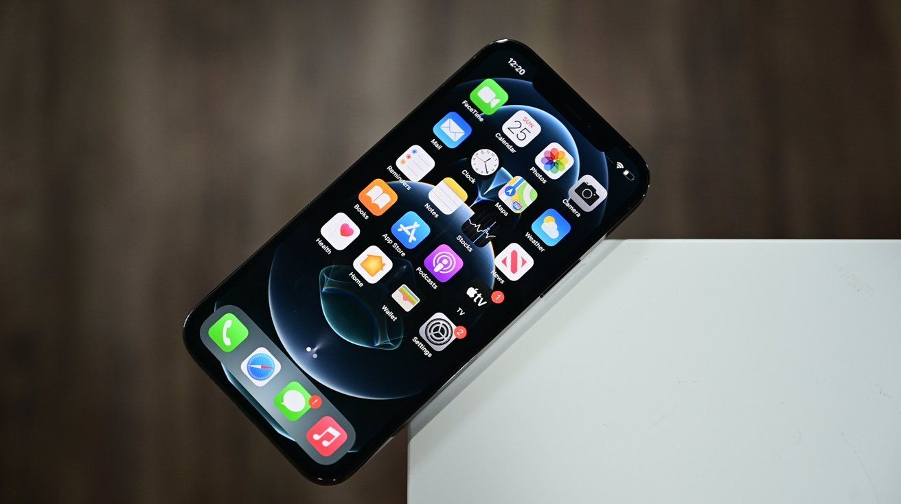 The iPhone 12 Pro display is slightly brighter than the non-Pro