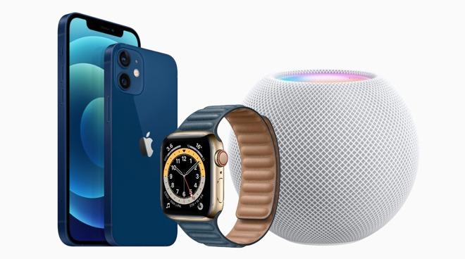 Apple's U1 chip is included in the iPhone 12 and Pro ranges, the Apple Watch Series 6, and the HomePod mini.