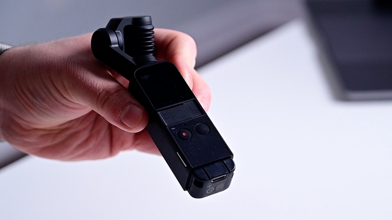 DJI Pocket 2 removable modular bottom