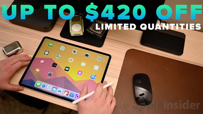 photo of Lowest iPad Pro prices: save up to $420 on 12.9