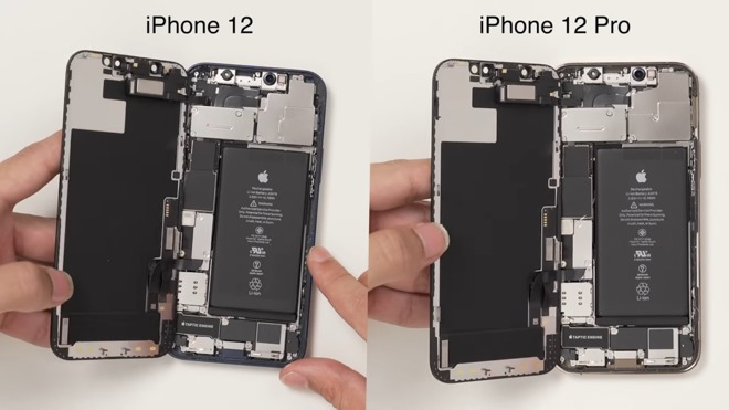photo of iPhone 12, iPhone 12 Pro both sport the same 2,815 mAh battery image