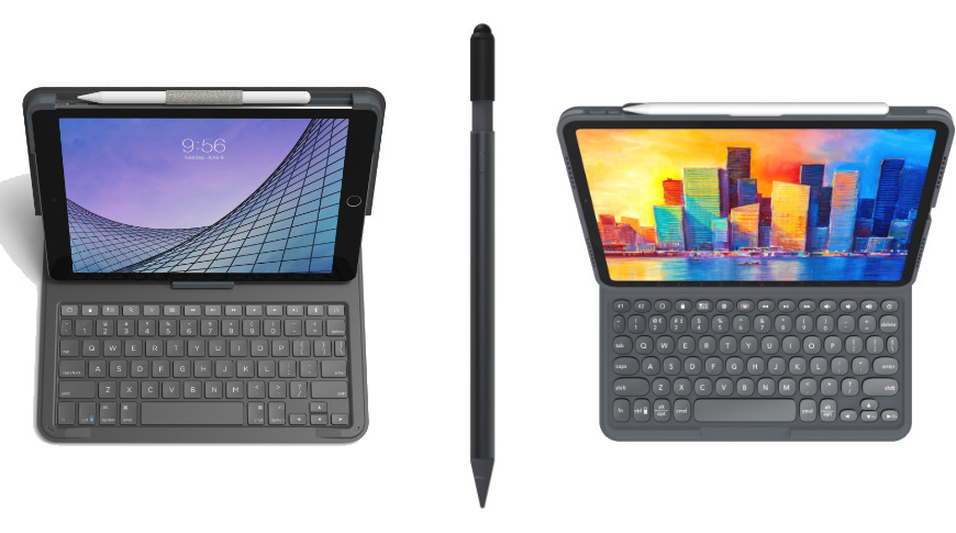 Zagg announces two new iPad keyboards and a 'Pro' stylus