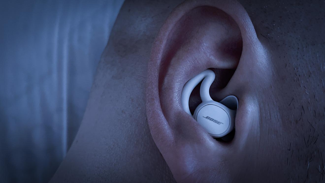 Bose Sleepbuds II in the ear
