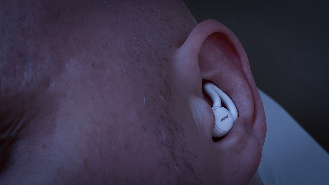 Bose Sleepbuds II fit snugly within the ear