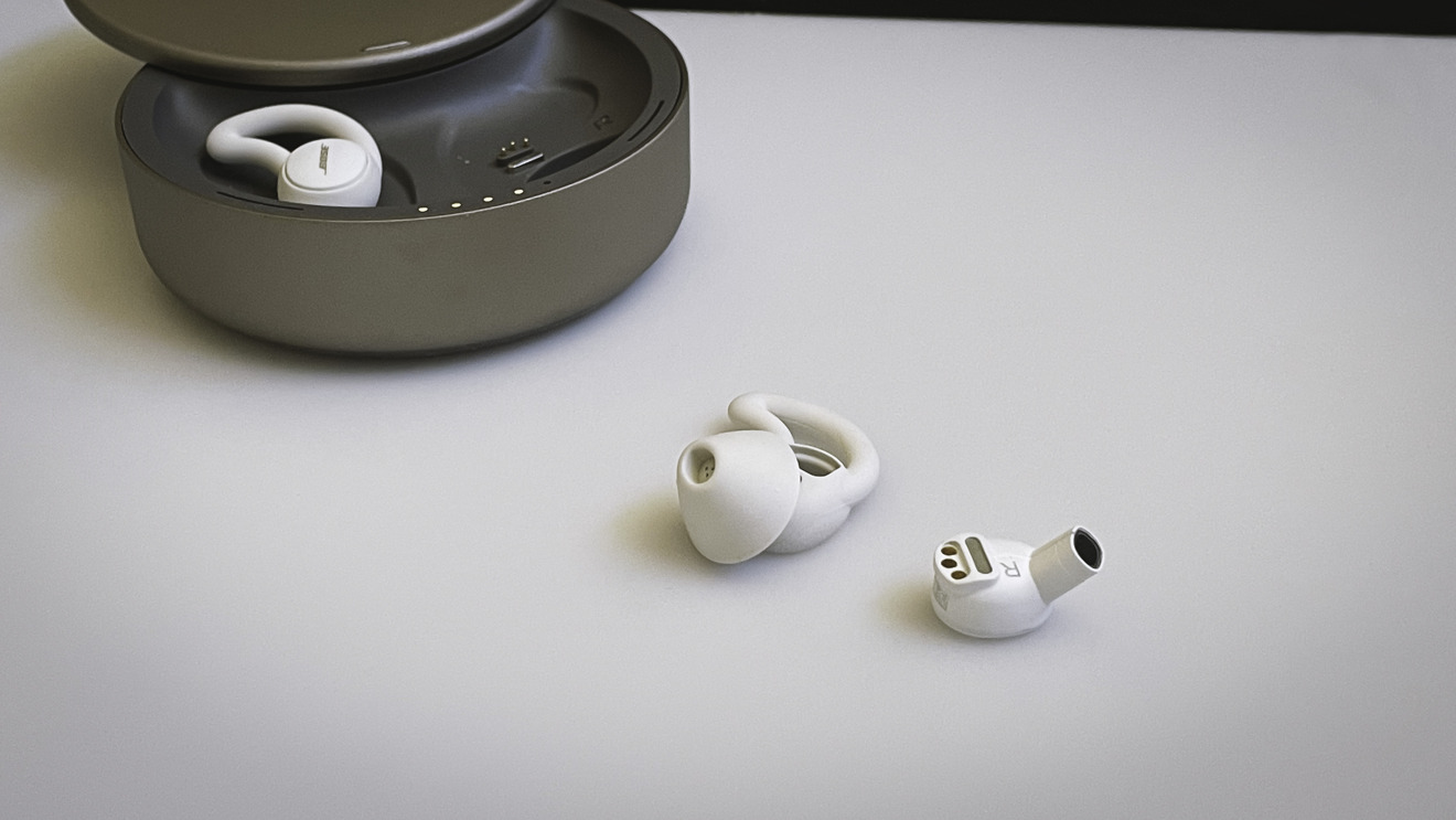 Bose Sleepbuds II without the ear tip