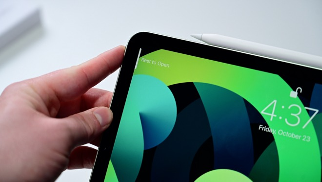Rest to open iPad Air with Touch ID