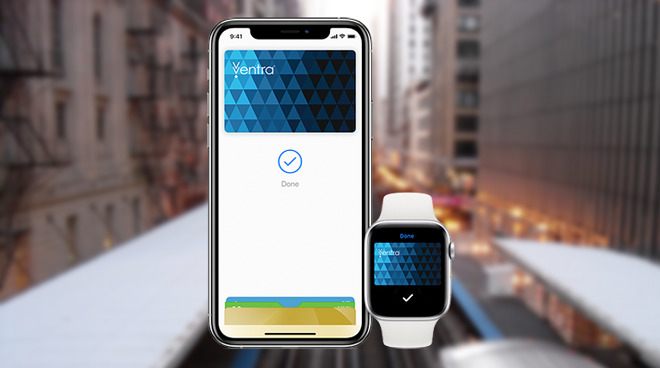 photo of Apple Pay Express Transit Mode now available in Chicago image