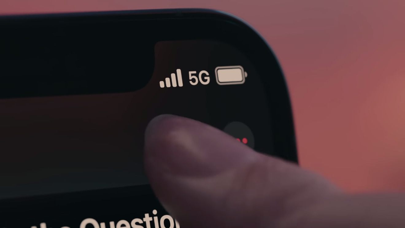 How to tell which aspect of 5G you've connected to on iPhone 12