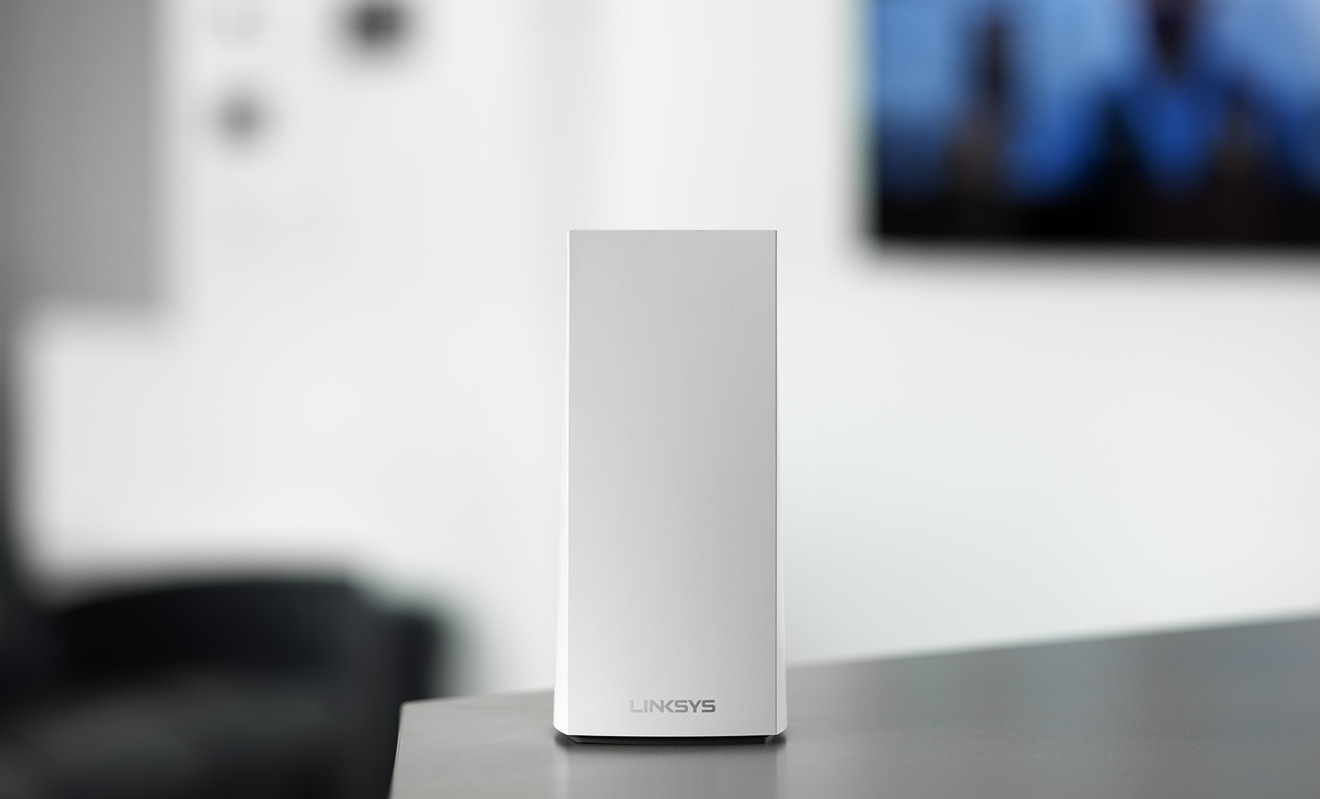 Linksys debuts more affordable Velop AX4200 Wi-Fi 6 mesh router | AppleInsider