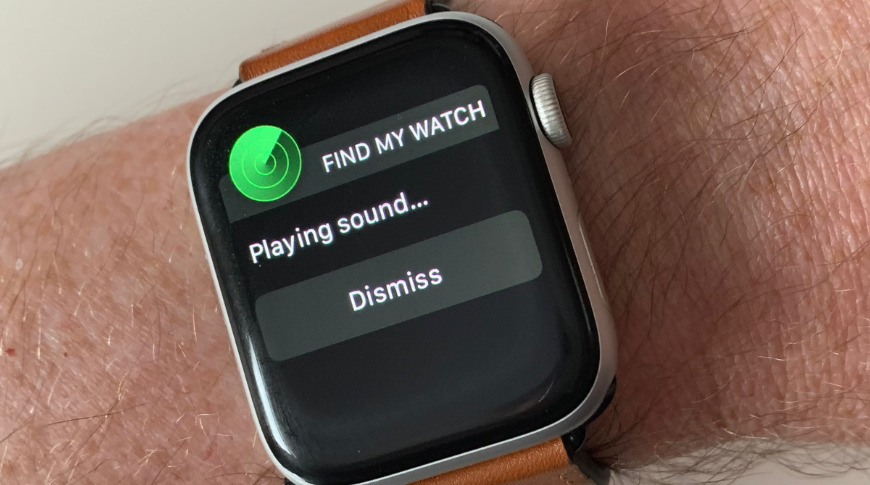 Demonstrating playing a sound on an Apple Watch