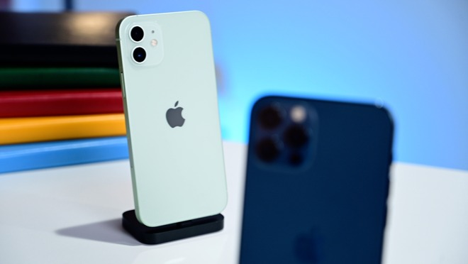 iPhone 12 and iPhone 12 Pro cameras