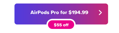 Apple AirPods Pro deal at Woot