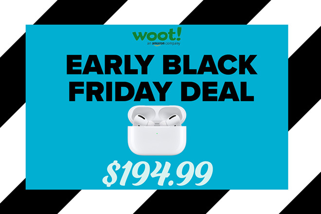 This Early Black Friday Deal Puts Apple Airpods Pro Within 5 Of Record Low Price
