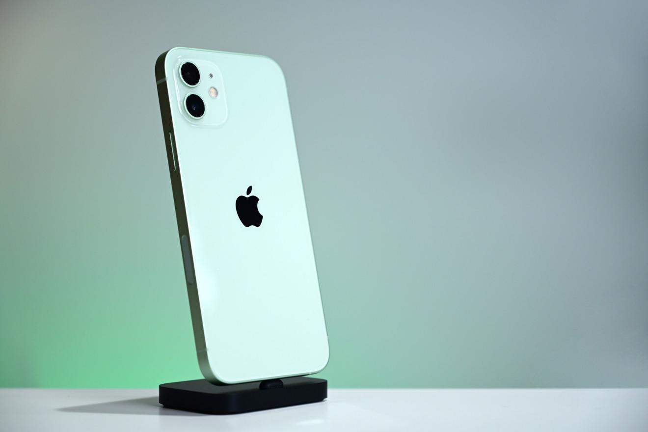 Green iPhone 12