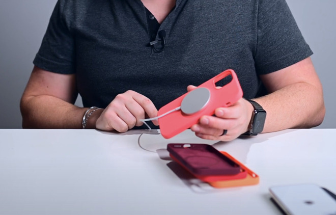 Apple's MagSafe charger and iPhone 12 cases