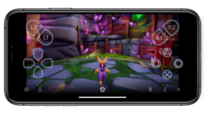 Remote play lets you play your Playstation on your iPhone