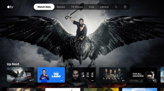 Apple TV app on Xbox