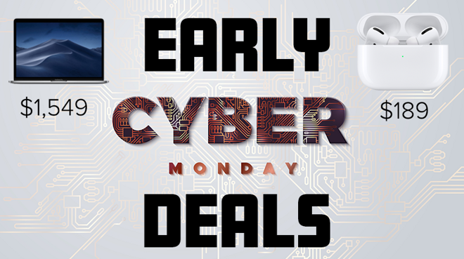 Apple early Cyber Monday deals on AirPods Pro and MacBook Pro