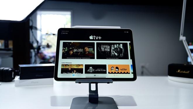Apple TV app on iPad Air 4