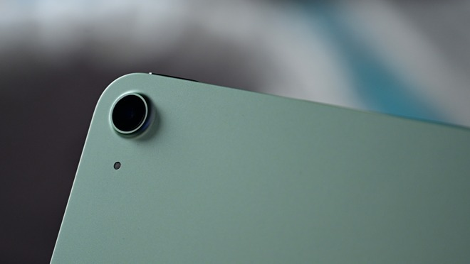 Updated camera of iPad Air 4