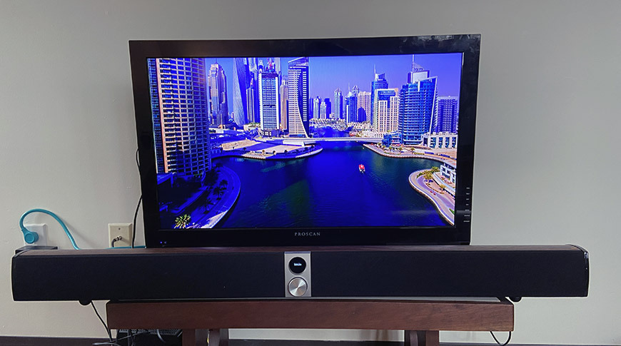 photo of Review: Edifier S50DB soundbar works great but lacks some key features image