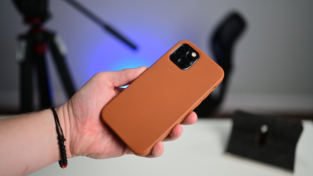 Mujjo brown full leather case