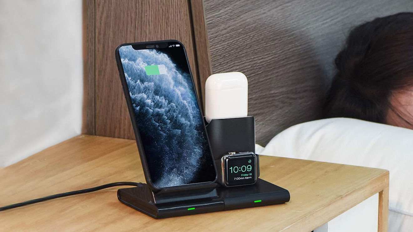 Seneo 3-in-1 wireless-charging station