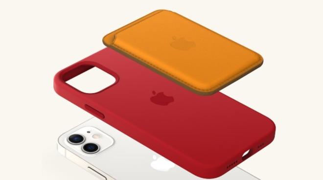 An example iPhone 12 case and wallet combination using the iPhone 12 Studio