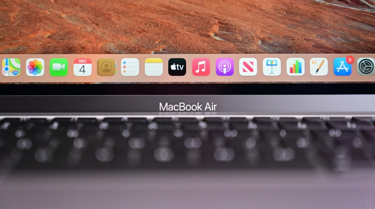 The display of the new MacBook Air will be familiar to users of the old model.