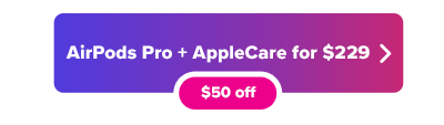 Apple AirPods Pro with AppleCare deal