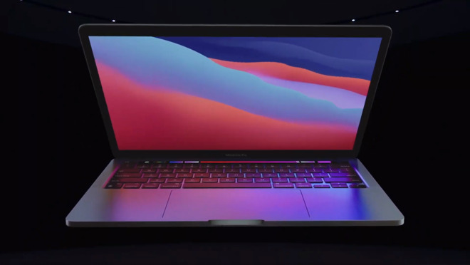 The new M1-equipped MacBook Pro