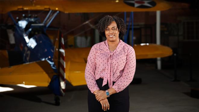 Tuskegee Public School Principal and 22-year US Army veteran Tiffany Williams