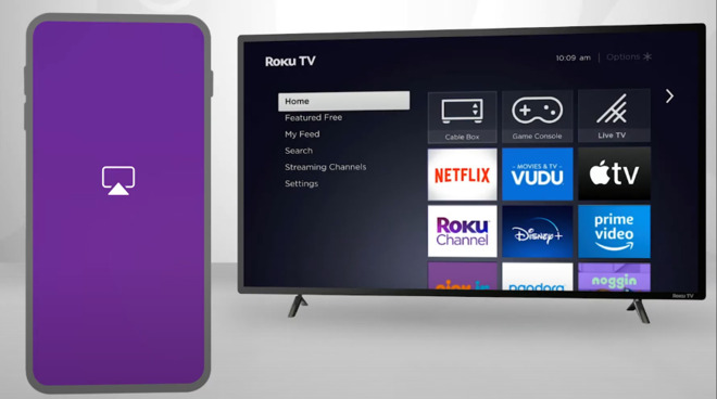 Select Roku devices now support AirPlay and HomeKit