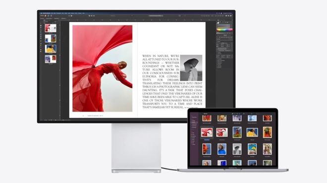 Macs with the M1 processor can run the Pro Display XDR at full resolution