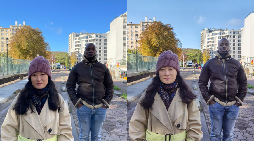 iPhone 12 Pro (left) and Huawei P40 Pro (right) Image credit: DXOMark
