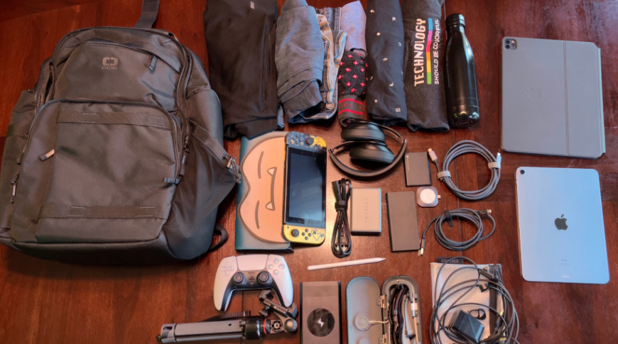 You can fit almost everything you need for a two day trip in this bag