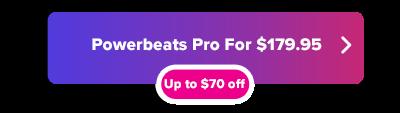 Powerbeats Pro holiday savings