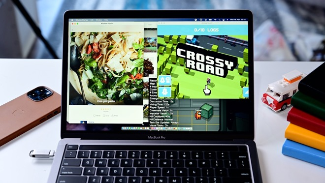 Running iOS apps on the 13-inch MacBook Pro