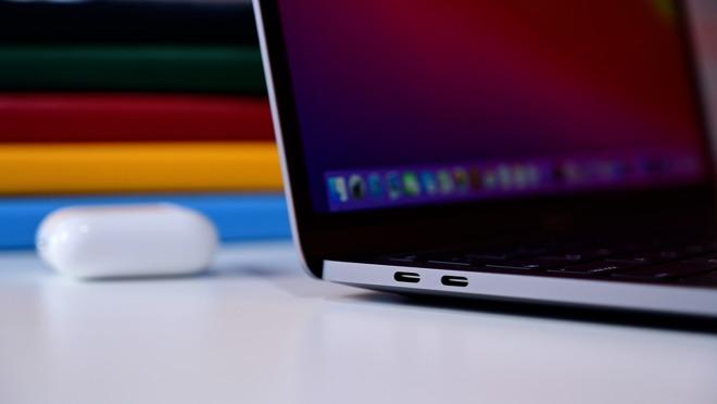 USB Type-C ports on 13-inch MacBook Pro