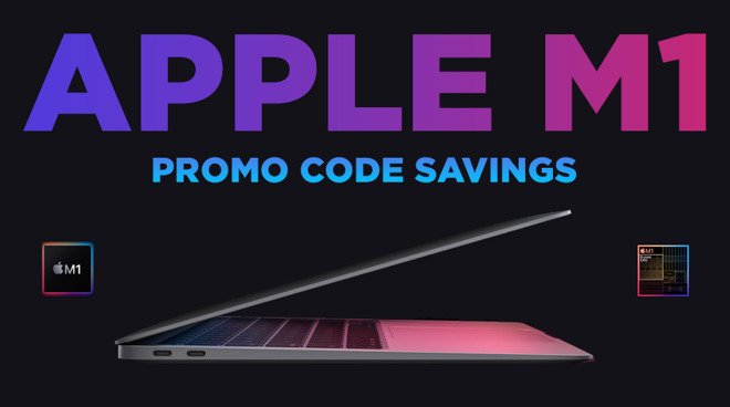 New MacBook Air coupon on M1 chip