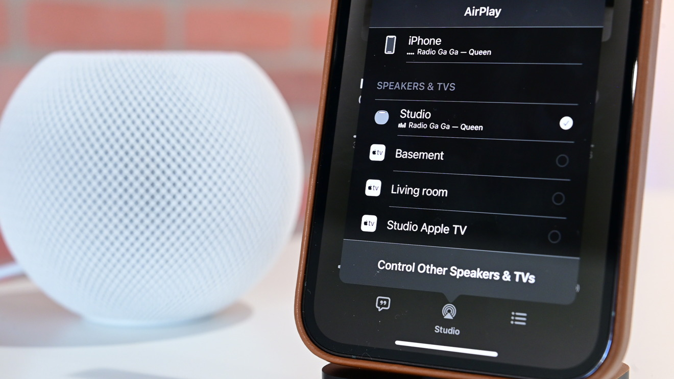 Jamming on HomePod mini