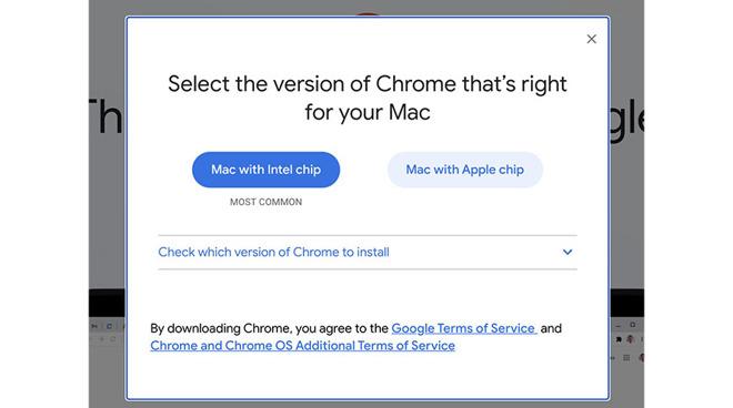 Chrome M1